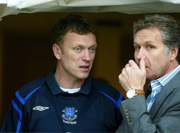 AFC Bournemouth v Everton Everton manager David Moyes with Bournemouth manger Kevin Bond