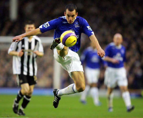 Everton v Newcastle United Everton's Leon Osman