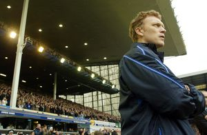 David Moyes watches on