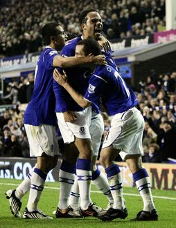 Football - Everton v Aston Villa - Barclays Premier