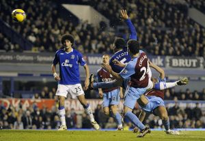 Football - Everton v Aston Villa Barclays Premier League