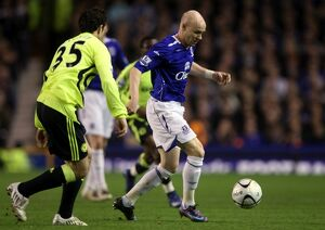 Football - Everton v Chelsea - Carling Cup Semi Final Second Leg - Goodison Park - 07/08