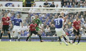 Football - Everton v Manchester United FA Barclays Premiership - Goodison Park