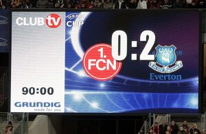 Football - FC Nurnberg v Everton UEFA Cup Group Stage - Second Round Matchday Two