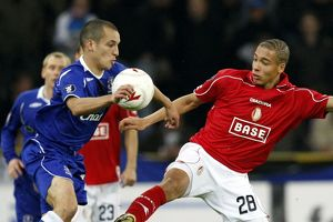Football - Standard Liege v Everton UEFA Cup First
