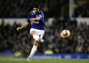 Football - Stock - 07/08 - 8/12/07 Mikel Arteta - Everton Mandatory Credit