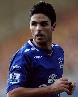 Football - Stock - 07/08 - 9/2/08 Mikel Arteta - Everton Mandatory Credit