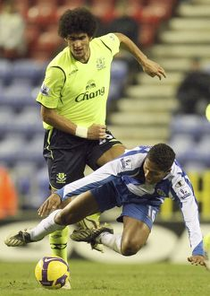 Football - Wigan Athletic v Everton Barclays Premier