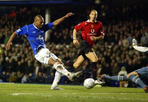 <b>Everton 0 Man Utd 2 (FA Cup) 19-02-05</b><br>Selection of 5 items
