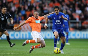Soccer - Barclays Premier League - Blackpool v Everton - Bloomfield Road