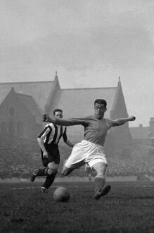 bill dixie dean in action