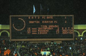 Soccer - UEFA Europa League - Group I - FC BATE Borisov v Everton - Dinamo Stadium