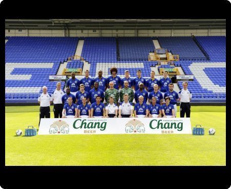 Official Everton 2011-12 Squad Photo