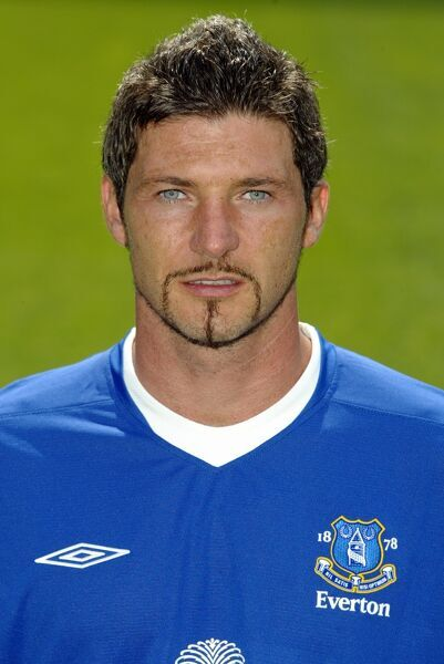 Alessandro Pistone. 12 08 04 Job No 04081206 Everton Team Picture And Headshots