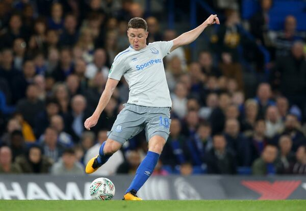 Everton's James McCarthy during the Carabao Cup, Fourth Round match at Stamford Bridge, London. PRESS ASSOCIATION Photo. Picture date: Wednesday October 25, 2017. See PA story SOCCER Chelsea. Photo credit should read: Nigel French/PA Wire. RESTRICTIONS