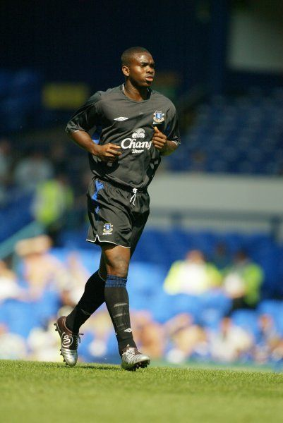 Joseph Yobo. 07 08 04 Job No 04080701 Pre Season Friendly Everton v Real