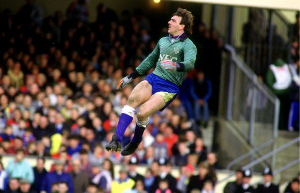 Neville Southall flies high