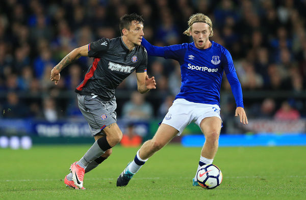 UEFA Europa League - Play-Off - First Leg - Everton v Hajduk Split - Goodison Park