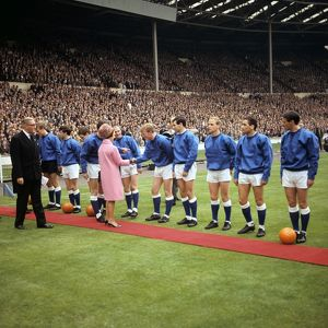 1966 FA Cup Final - Everton v Sheffield Wednesday - Wembley Stadium - 14/5/66