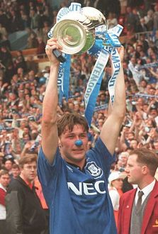 players staff/duncan ferguson/1995 fa cup final everton v manchester united