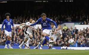 <b>28 April 2012 v Fulham, Goodison Park</b><br>Selection of 51 items