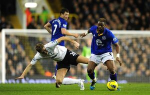 <b>11 January 2012, Tottenham Hotspur v Everton</b><br>Selection of 24 items