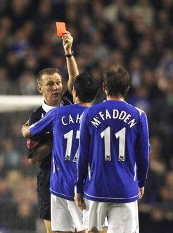 players staff/james mcfadden/everton v arsenal carling cup fourth round evertons
