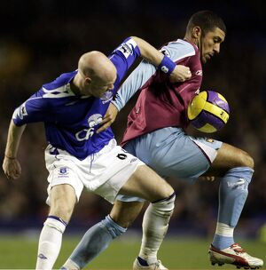 players staff/andy johnson/everton v west ham andrew johnson west hams