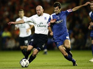 players staff/lee carsley/evertons lee carsley peterbroughs richard butcher