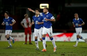 FA Cup - Fourth Round - Stevenage v Everton - The Lamex Stadium