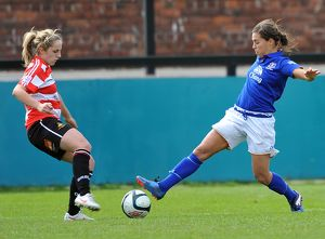 FA Women's Super League - Everton Ladies v Doncaster Rovers Belles - Arriva Stadium
