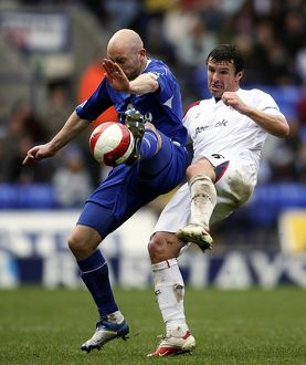players staff/lee carsley/football bolton wanderers v everton fa barclays