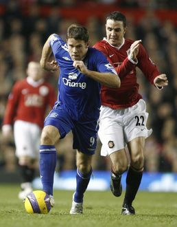 players staff/james beattie/football manchester united v everton fa barclays