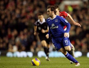 players staff/james mcfadden/football manchester united v everton fa barclays