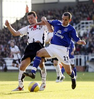 previous seasons/season 06 07 fulham v everton/fulham v everton tomasz radzinski fulham action