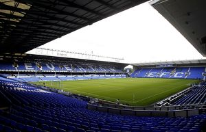 Goodison Park, home to Everton F.C