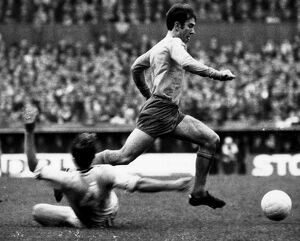 Howard Kendall in action