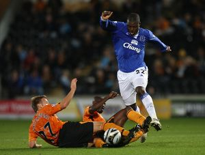 Soccer - Carling Cup - Third Round - Hull City v Everton - KC Stadium
