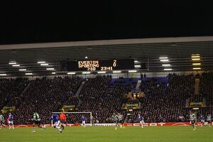 goodison park/soccer uefa europa league round 32 first